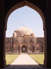 La mezquita de Mandu