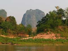 Paisaje en el río