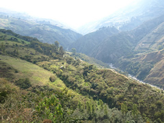 Hermoso paisaje en Niquitao