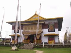 El monasterio Pemayangtse en Pelling