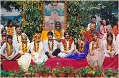 Los Beatles en India