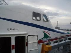 Es un barco, aunque parezca un avión