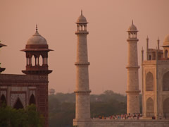 El Taj desde mi hostal