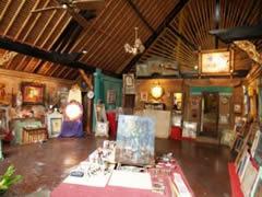 Estudio en el Museo Antonio Blanco de Ubud