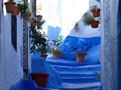 El color azul tradicional en Chauen
