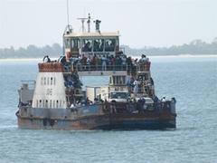 El ferry a Banjul
