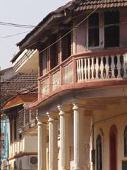 Casa colonial portuguesa en Panaji