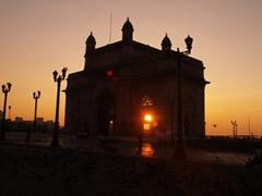 Amanecer en La Puerta de India