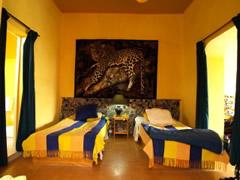 La habitación del hotel Harmatan