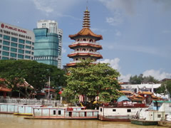 La pagoda de Sibu