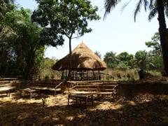 El proyecto de African Village en el río de Kambia