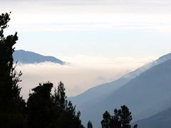 El mar de nubes desde Mucubaji