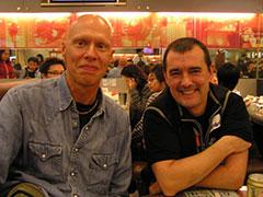 Con Sam en Hong Kong