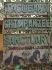 Cartel de entrada a Tacugama