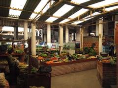 Interior mercado de Pamplona