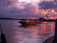 Express llegando a Sibu