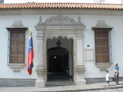 Fachada museo Bolivar