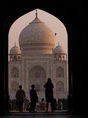El Taj enmarcado