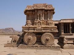 Templo Vithala. Carro de piedra