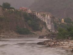 El Ganges y los ashram