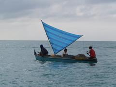 Barca en Semporna