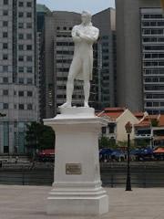 La estatua de Raffles