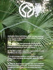 Las cosas que han hecho a Gunung Mulu Patrimonio de la Humanidad de la UNESCO