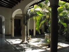 Patio interior casa Bolivar