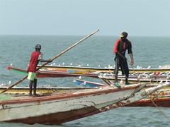 Pescadores en Tanjee