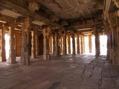Templo Vithala. Pilares musicales
