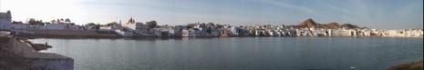 Panorámica Olympus de Pushkar