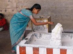 Ofrenda el templo