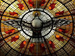Hermosa vidriera en la Catedral