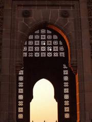 Detalle de La Puerta de India