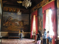 Salón principal casa natal Bolivar
