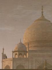 El Taj reflejado en el agua