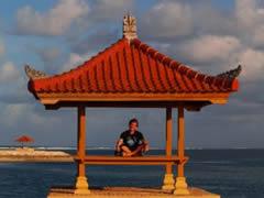 Frente al mar en Sanur
