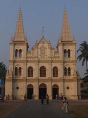 Basílica de Santa Cruz en Fort Cochin, Kerala