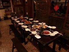 La mesa de fin de año