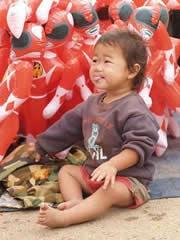 La feria de Luang Prabang