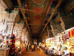 El mercado anexo al templo