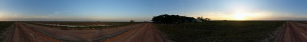 El campamento al amanecer