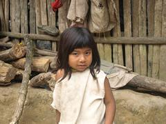 Niña indígena