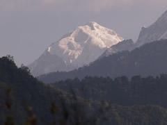 El Kanchenjunga desde el albergue de Khecheopalri