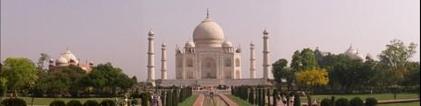 Panorámica Olympus del Taj Mahal