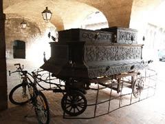 Carroza colonial fúnebre
