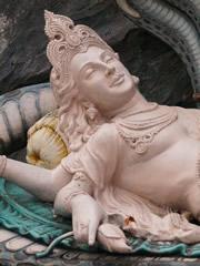 Shiva con gesto hedonista