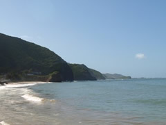 Playa de Río Caribe