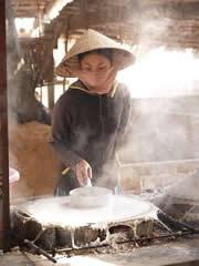 Fábrica de tallarines de arroz