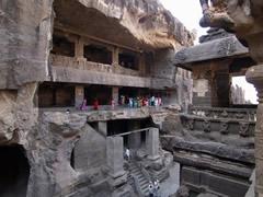 La cueva principal de Ellora